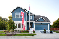 Red Gable Model Home & Upgrades